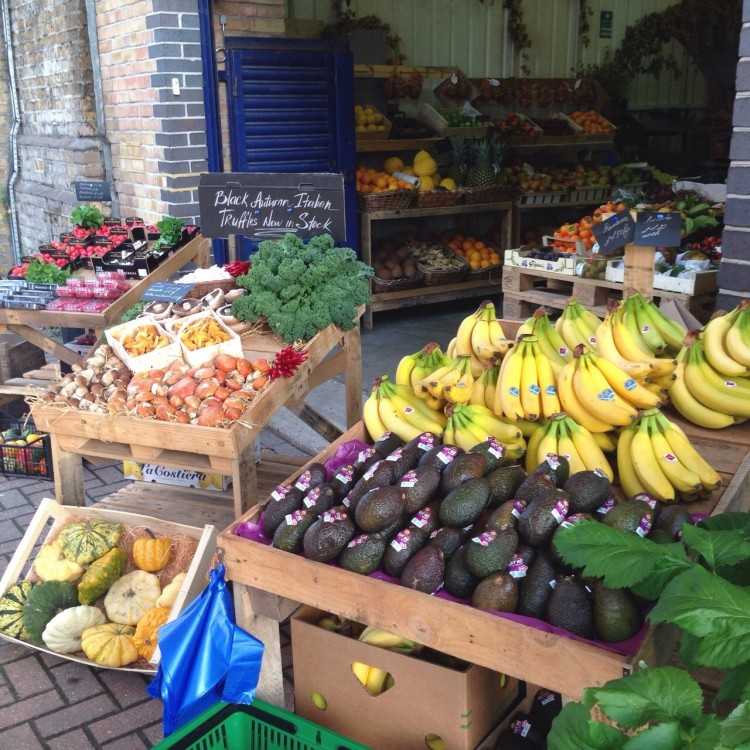 place to shop in South-East London, where to shop vegetables in london