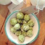 Green tea energy balls