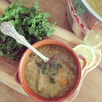 Cauliflower & smoked whiting chowder