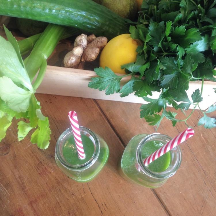 perfect green juice, vegetable juice, healthy juice recipe