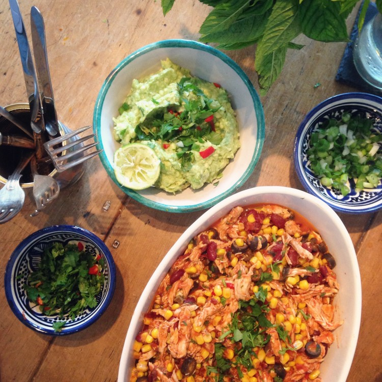 Mexican pulled chicken, mexican pulled chicken recipe, healthy chicken recipe, mexican pulled ingredients