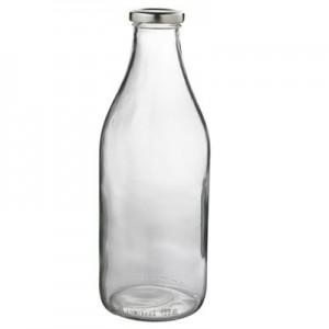 Milk bottle healthy option