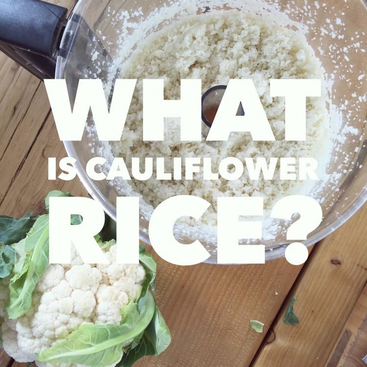 cauliflower rice, how to cook a cauliflower rice