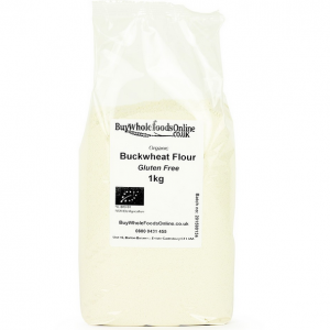 Buckwheat flour living a healthy lifestyle