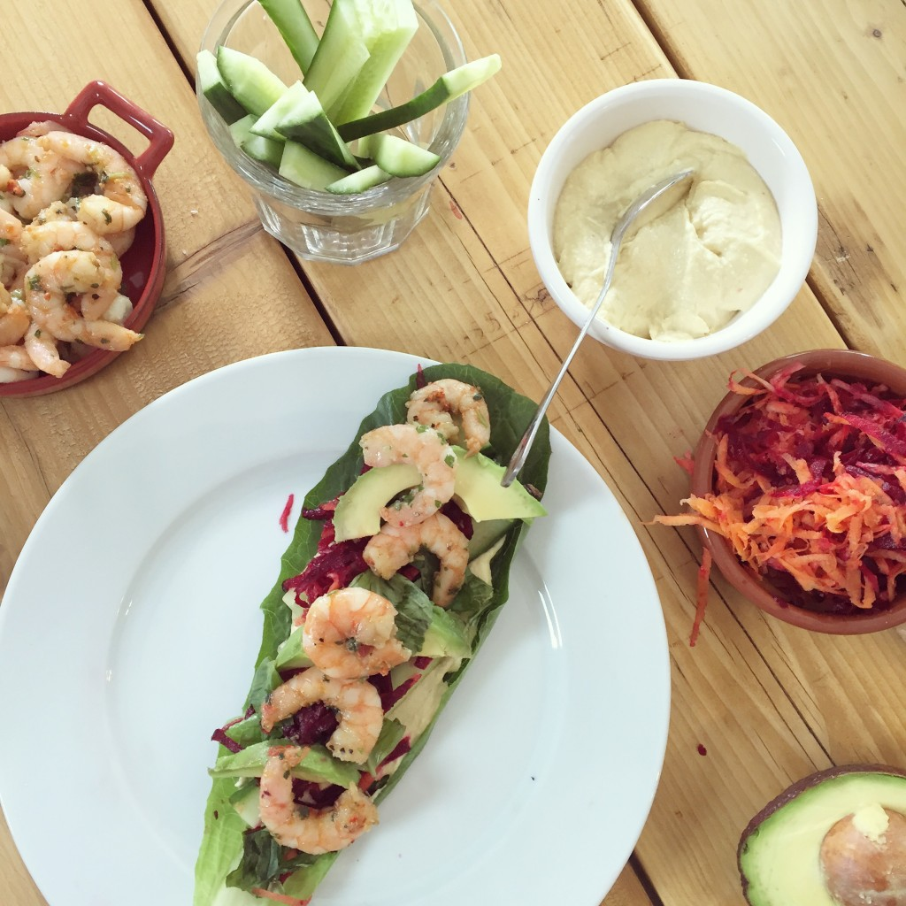 Dinner wraps healthy eating tips