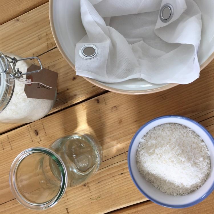 Creamy coconut milk