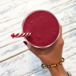 Beetroot breakfast smoothie