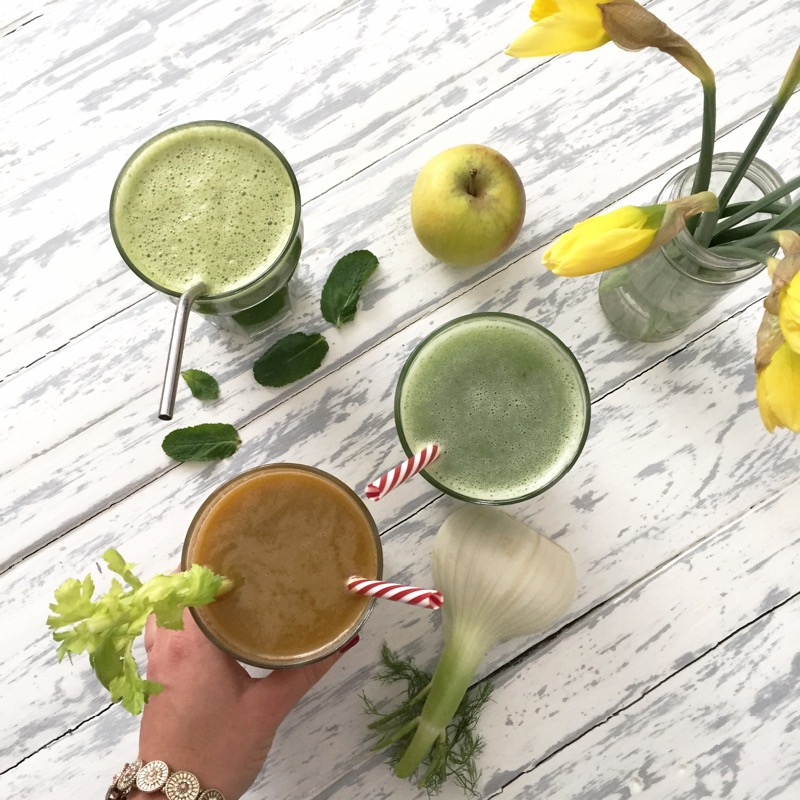 The green rebound juice
