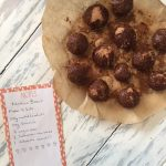 Raw nutella balls